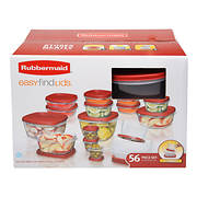 Rubbermaid 56-Pc. Food Container Set