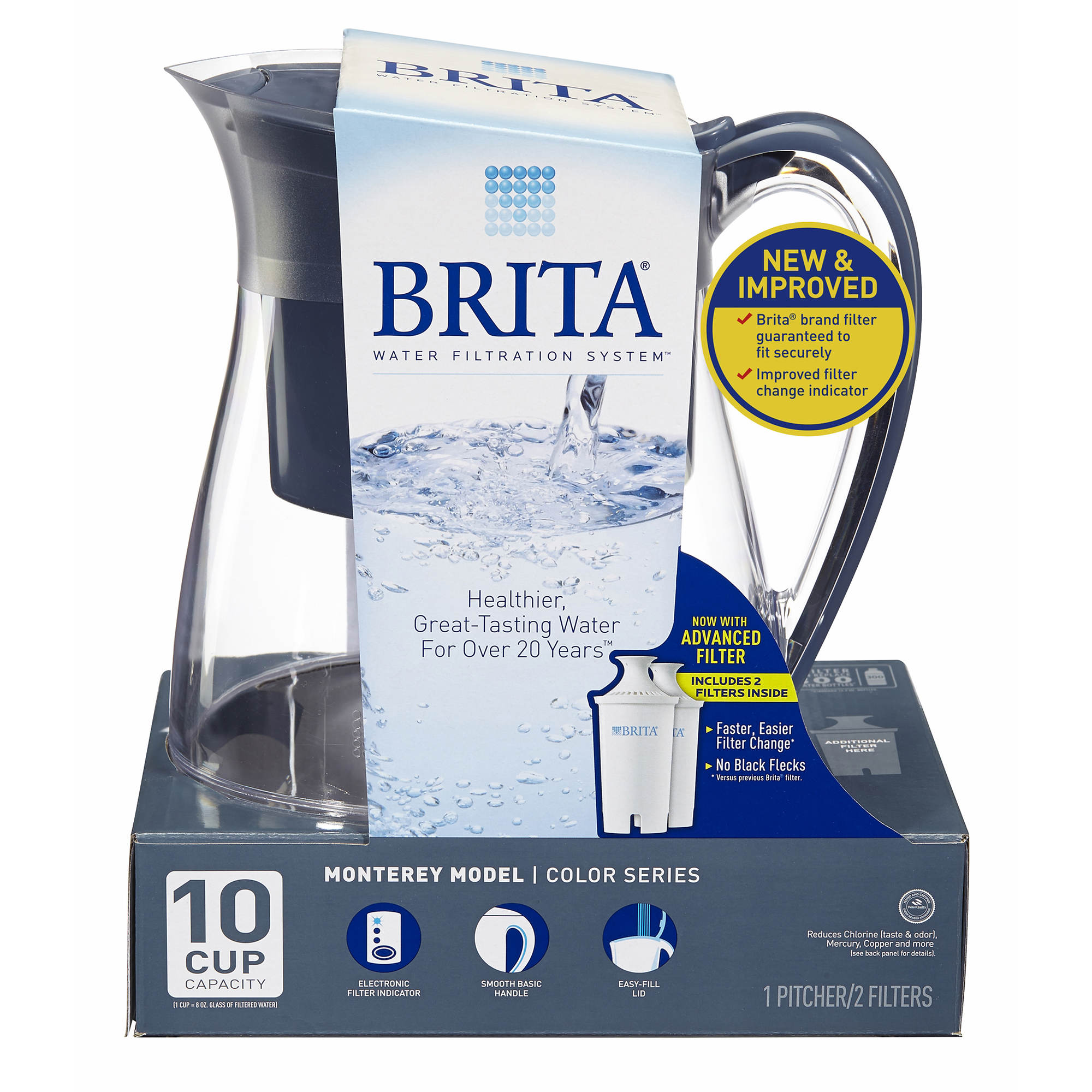 H2O is even better with Brita Rewards Earn points for Brita ® purchases and activities, then redeem them for gear, sweepstakes entries and more. You'll get an instant $2 coupon just for joining.