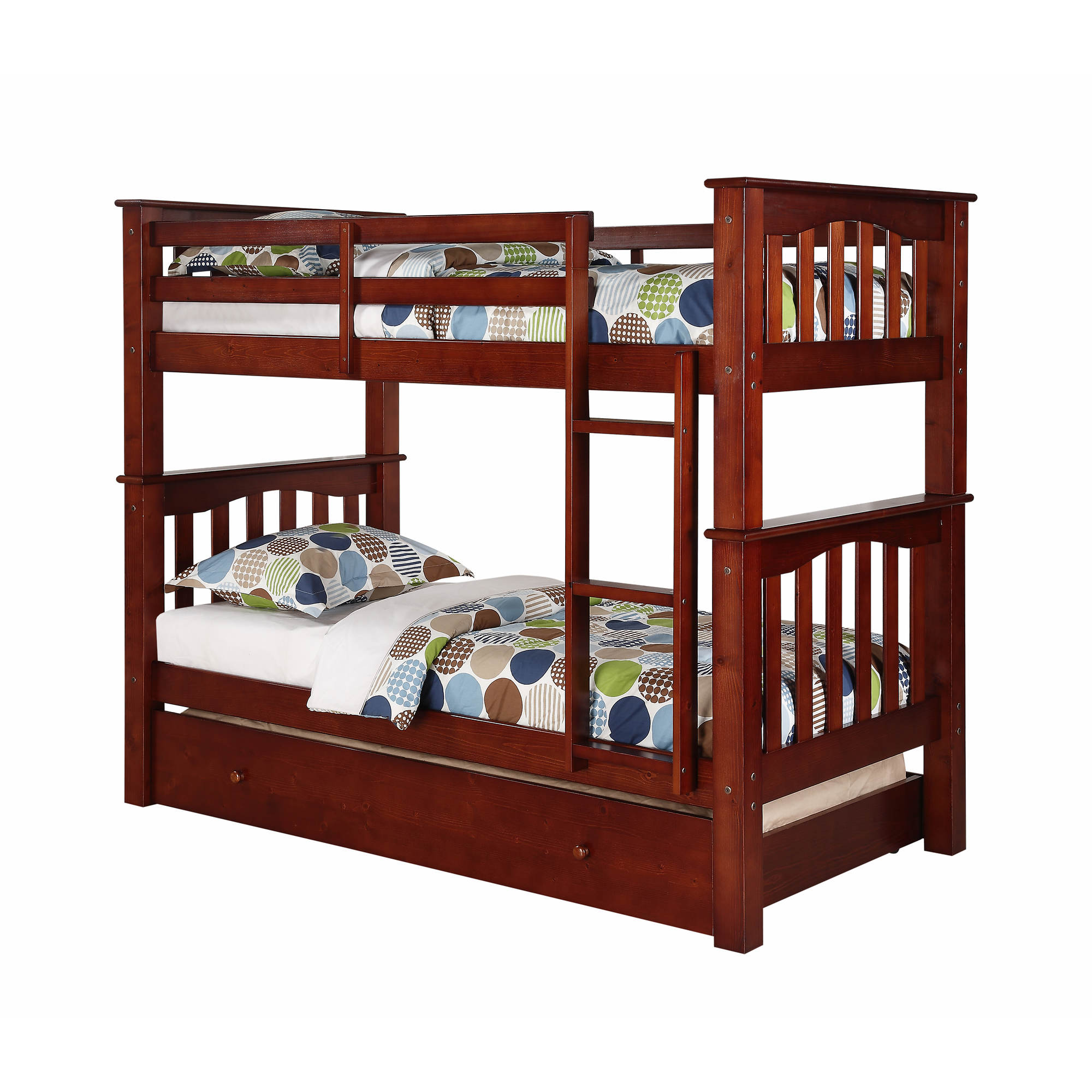 Berkley Jensen Twin Size Bunk Bed With Trundle Bj S
