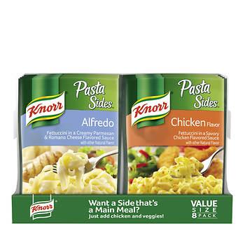 Knorr Alfredo Pasta Sides, 8 ct./4.4 oz. - BJs WholeSale Club