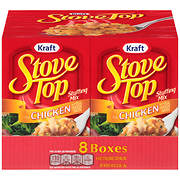 Kraft Stove Top Stuffing Mix for Chicken with Real Chicken Broth, 8 pk