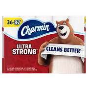 Charmin Ultra Strong 187-Sheet 2-Ply Toilet Paper, 36 pk.