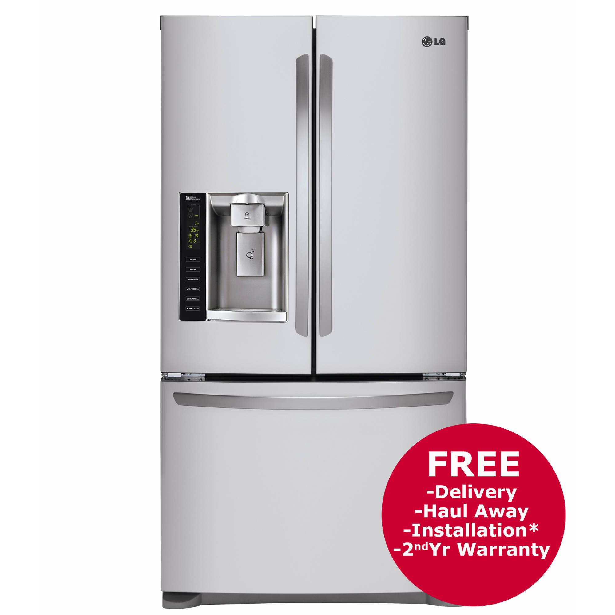 direct doors freezer free frost lg fridge refrigerator tht door style american