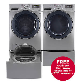 turbowash sidekick optional with pedestal and imageservice washer capacity dryer steam gas cuft storage laundry lg imageid mega recipename profileid product