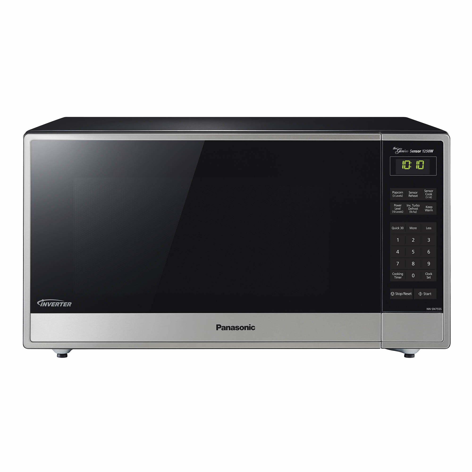 Panasonic 16 Cu Ft 1250w Microwave With Genius Inverter