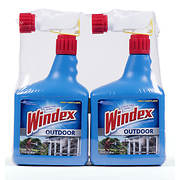 Windex Outdoor Glass and Patio Concentrated Cleaner, 2 pk./32 oz.