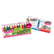Rich Art Color Me Clearly Window Markers, 12 ct. - Neon and Primary Co