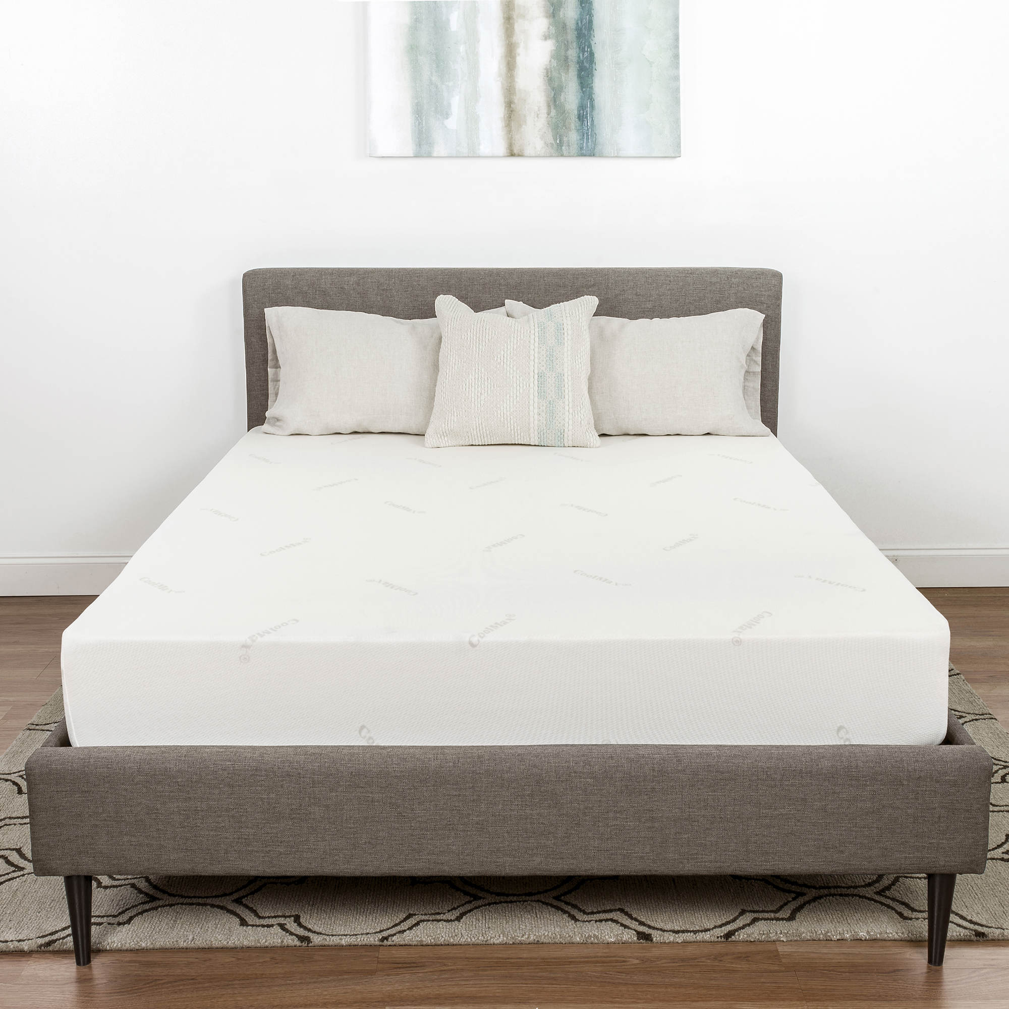 queen memory foam mattress gel therapedic bliss s quot cradlesoft size lovely set luxury bj i care bjs of quilted