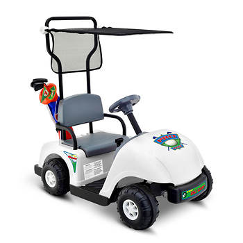 Kid Motorz Jr. Pro Golf Cart Ride-On with Golf Set - BJs WholeSale on rain covers for electric scooters, rain covers for gloves, rain covers for forklifts, rain covers for doors, rain covers for shopping carts, rain covers for equipment, rain covers for cars, rain covers for generators, rain covers for wheelchairs, rain covers for shoes, rain covers for tents, rain covers for golf clubs, rain covers for helmets,