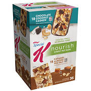 Kellogg's Special K Nourish Chewy Nut Bars, 36 ct.