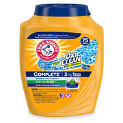 Arm & Hammer Oxi Clean Detergent, 75 pk./3.31 lbs.