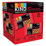 KIND Healthy Grains Dark Chocolate Chunk, 24 ct.