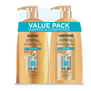 L'Oreal Extraordinary Oil Shampoo, 33.8 fl. oz. and Conditioner, 33.8