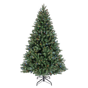sylvania 75 color changing led lighted tree - Color Changing Led Christmas Tree