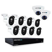 Night Owl Extreme 16-Channel 10-Camera 3MP Security System with 2TB HD