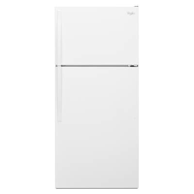 Whirlpool 14-Cu.-Ft.Top-Freezer Refrigerator - White-on-White