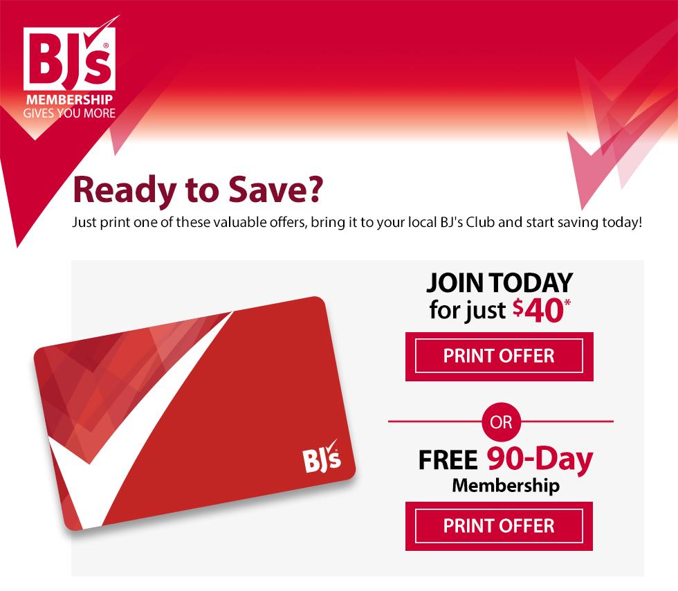 bj trial membership coupon 2019